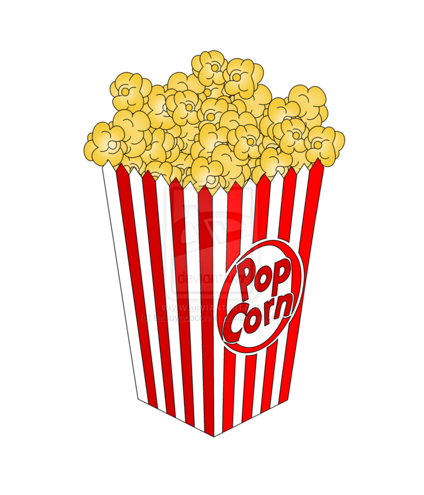 828x966 Movie Reel And Popcorn And Ticket Clipart Clipart