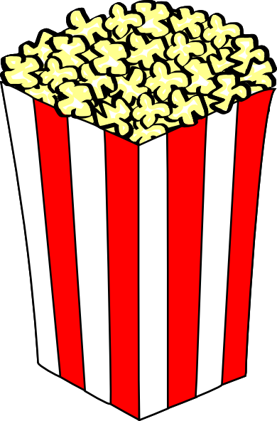 390x592 Movie Rental Clipart Movie Night Clip Art Popcorn