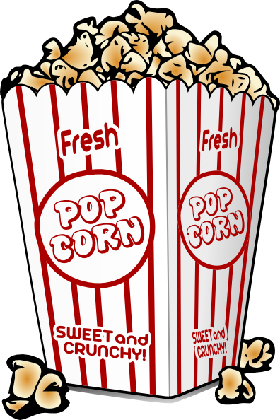 396x594 Popcorn Clip Art