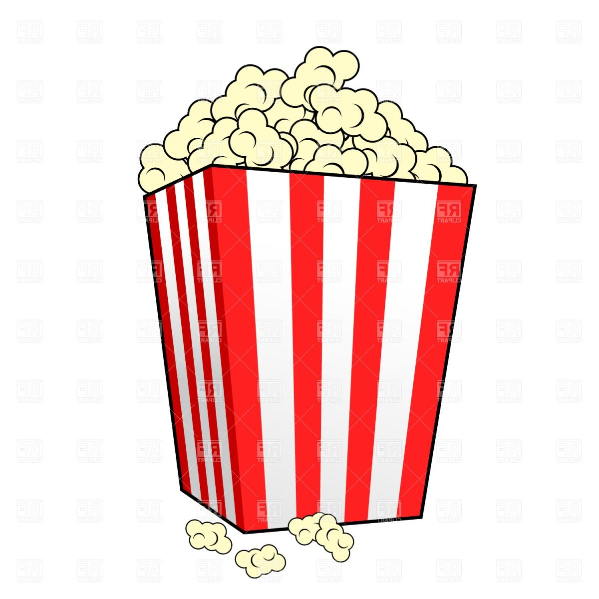 1200x1200 Best Movie Popcorn Clipart Border File Free