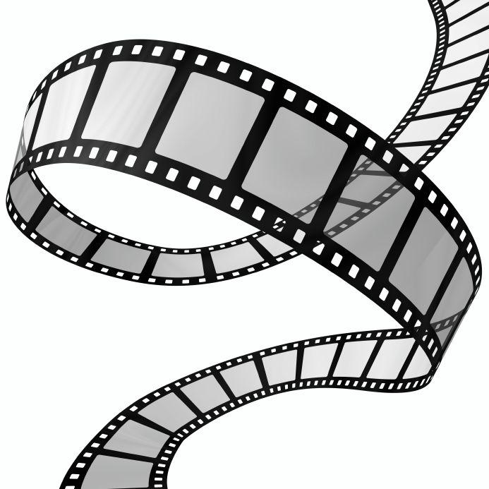 693x693 Movie Camera Clip Art