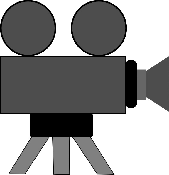 576x594 Movie Camera Clip Art Free Vector In Open Office Drawing Svg