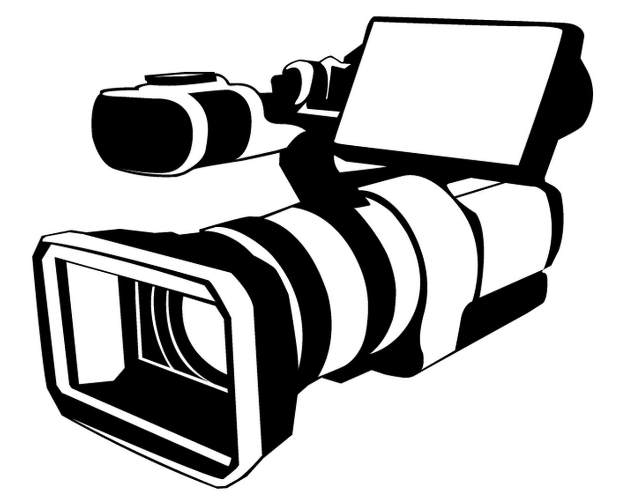 1252x1014 Camera Clipart Journalism