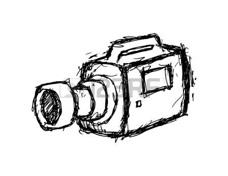 Movie Camera Drawing Free Download Best Movie Camera Drawing On