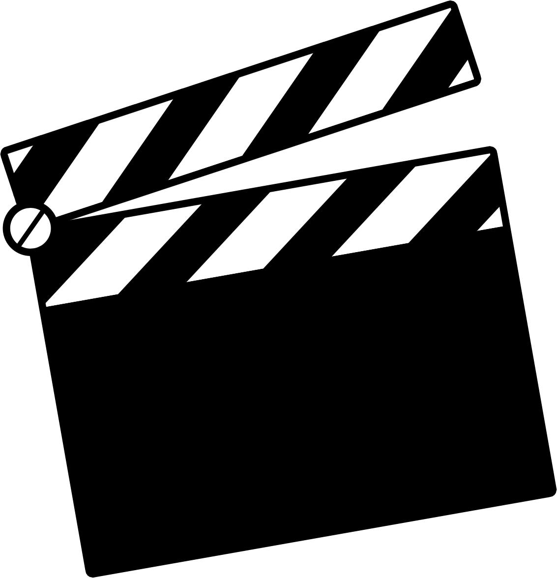 1133x1176 Movie Clapper Clip Art