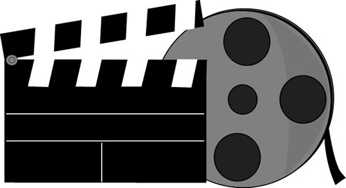 500x272 Movie Clip Art Gt Movie Clipart Panda