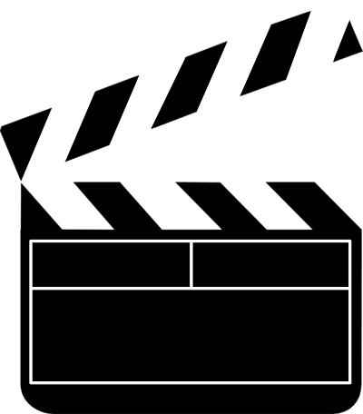 400x456 Movie clip art powerpoint free clipart images