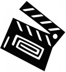 277x300 Movie Clip Art Black And White Clipart Panda