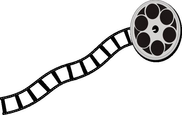 600x379 Movie Reel Movie Clip Art