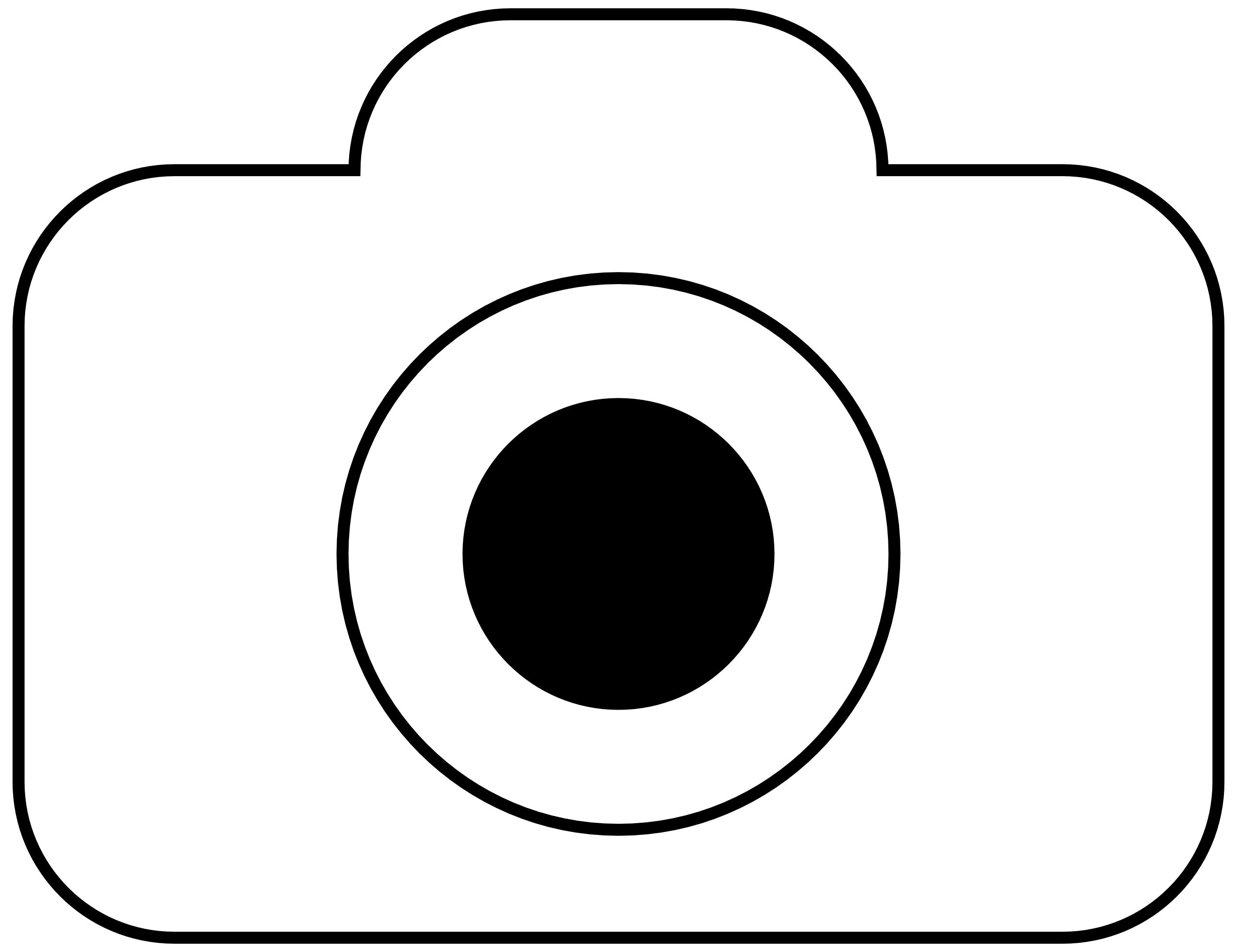 2555x1967 Video Camera Clipart Black And White Free