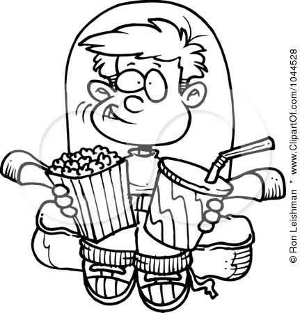 Movie Clipart Black And White | Free download on ClipArtMag