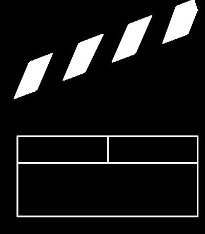 400x456 Free Movie Clipart