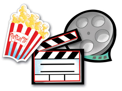 400x301 Movie Night Clipart 6