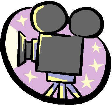 385x364 Movie Film Clip Art