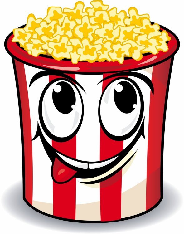 590x750 Popcorn clipart movie day