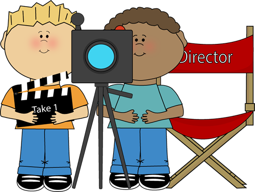 500x376 Movie Clipart Graphic