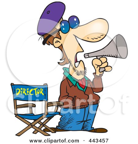 450x470 Royalty Free (Rf) Clip Art Illustration Of A Cartoon Movie