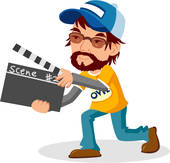 170x163 Clip Art Of Director, Movie, Cinema, Film Director, Full Age