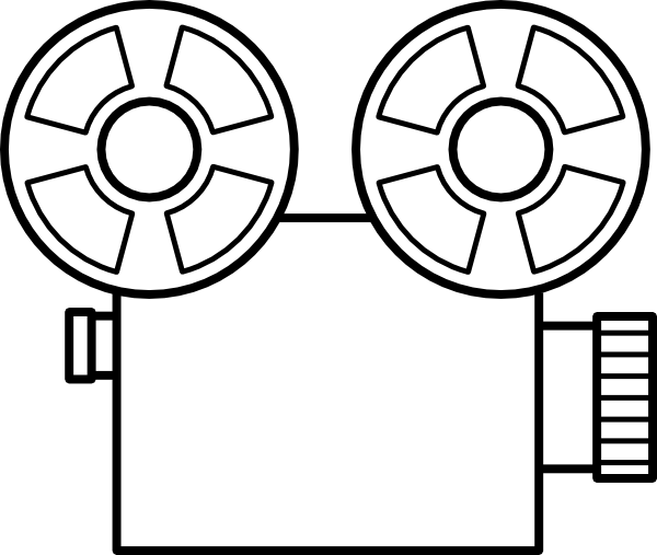 600x507 Film Clip Art