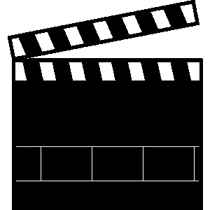300x300 Movie Scene Clipart