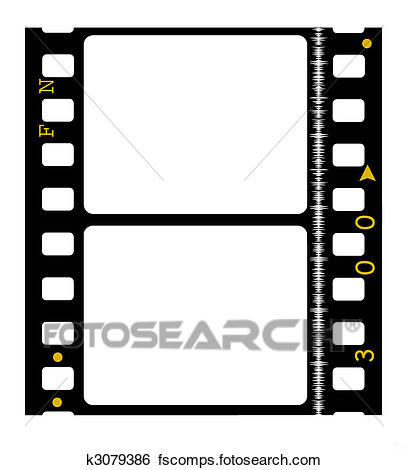 408x470 Stock Illustration Of 35 Mm Movie Film K3079386