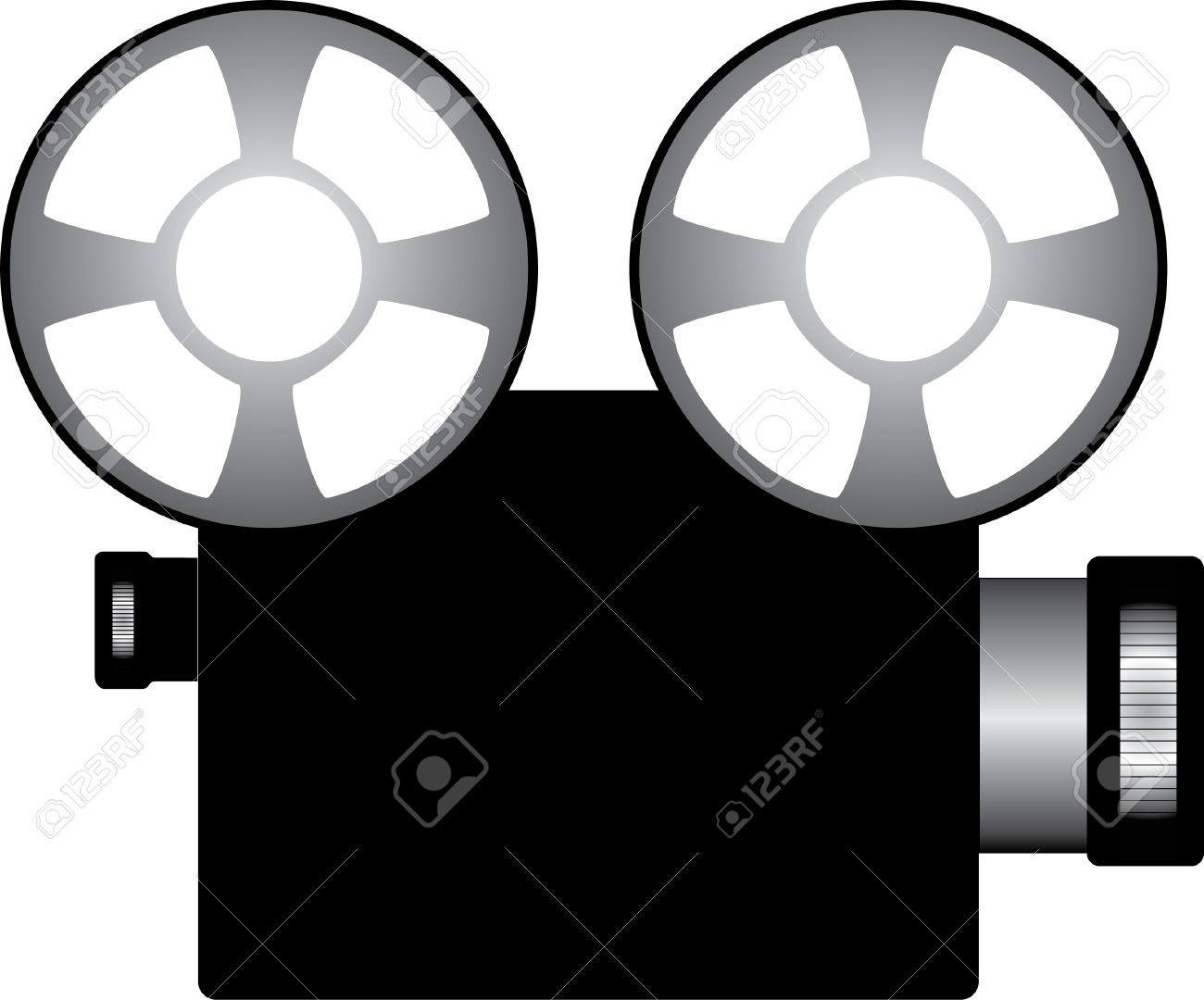 1300x1080 Movie Screening Clipart