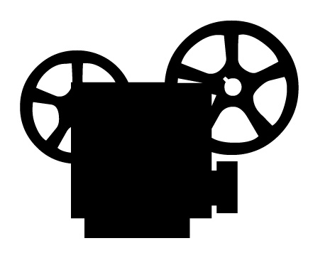 465x356 Clipart Movie Projector