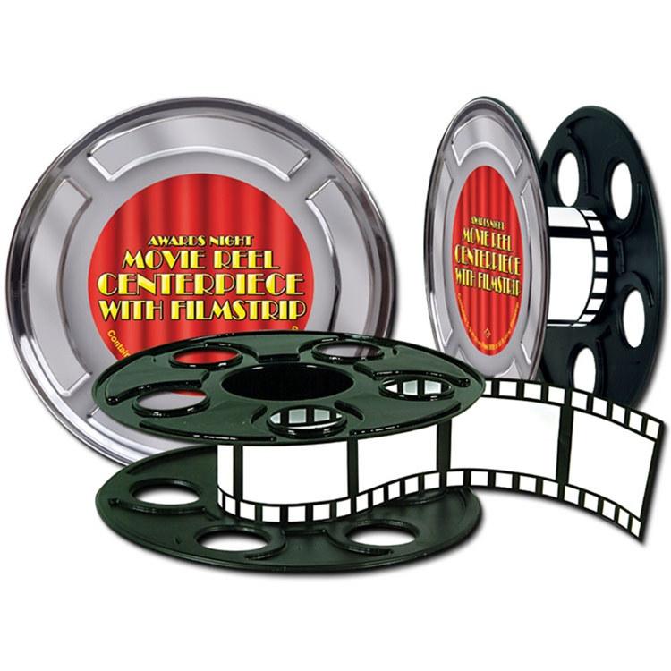 750x750 Movie Reel With Filmstrip Centerpiece