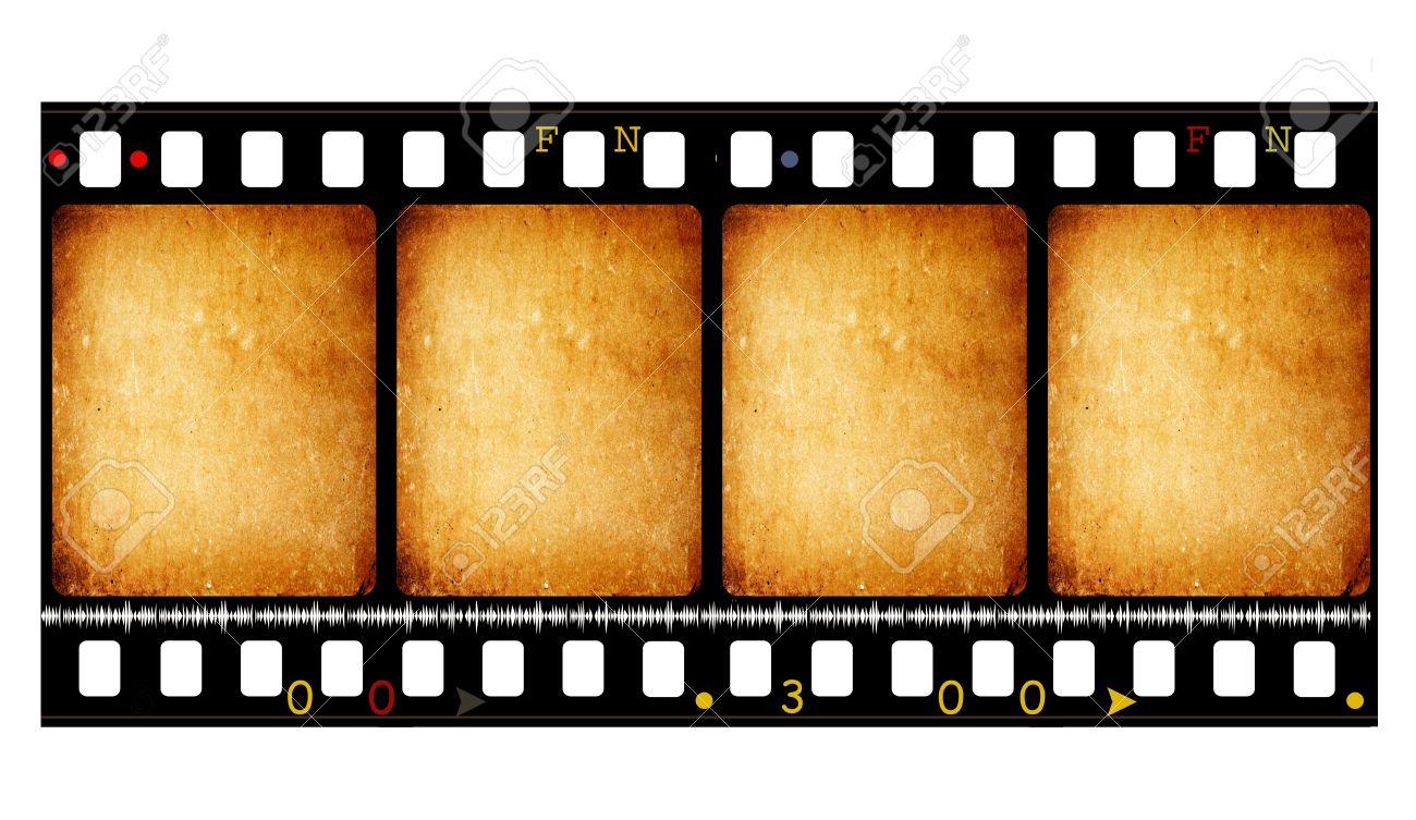 1300x753 Old 35 Mm Movie Film Reel,2d Digital Art Stock Photo, Picture