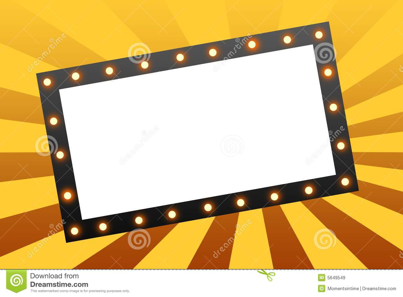 1300x958 Broadway Marquee Lights Clipart