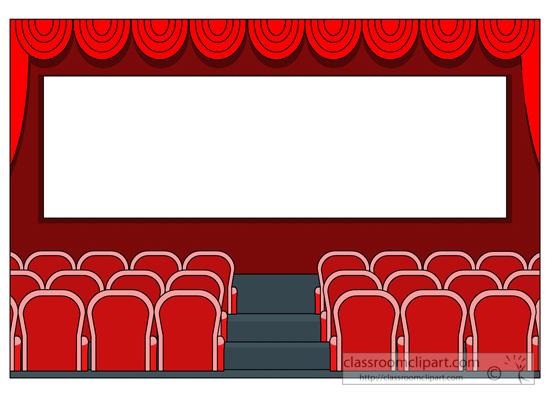 550x400 Light Clipart Movie Theater