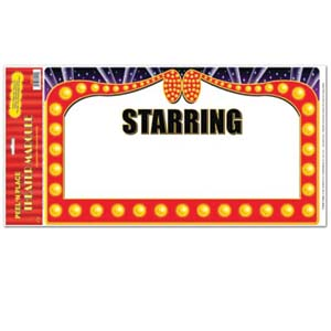300x300 Movie Theatre Marquee Clipart