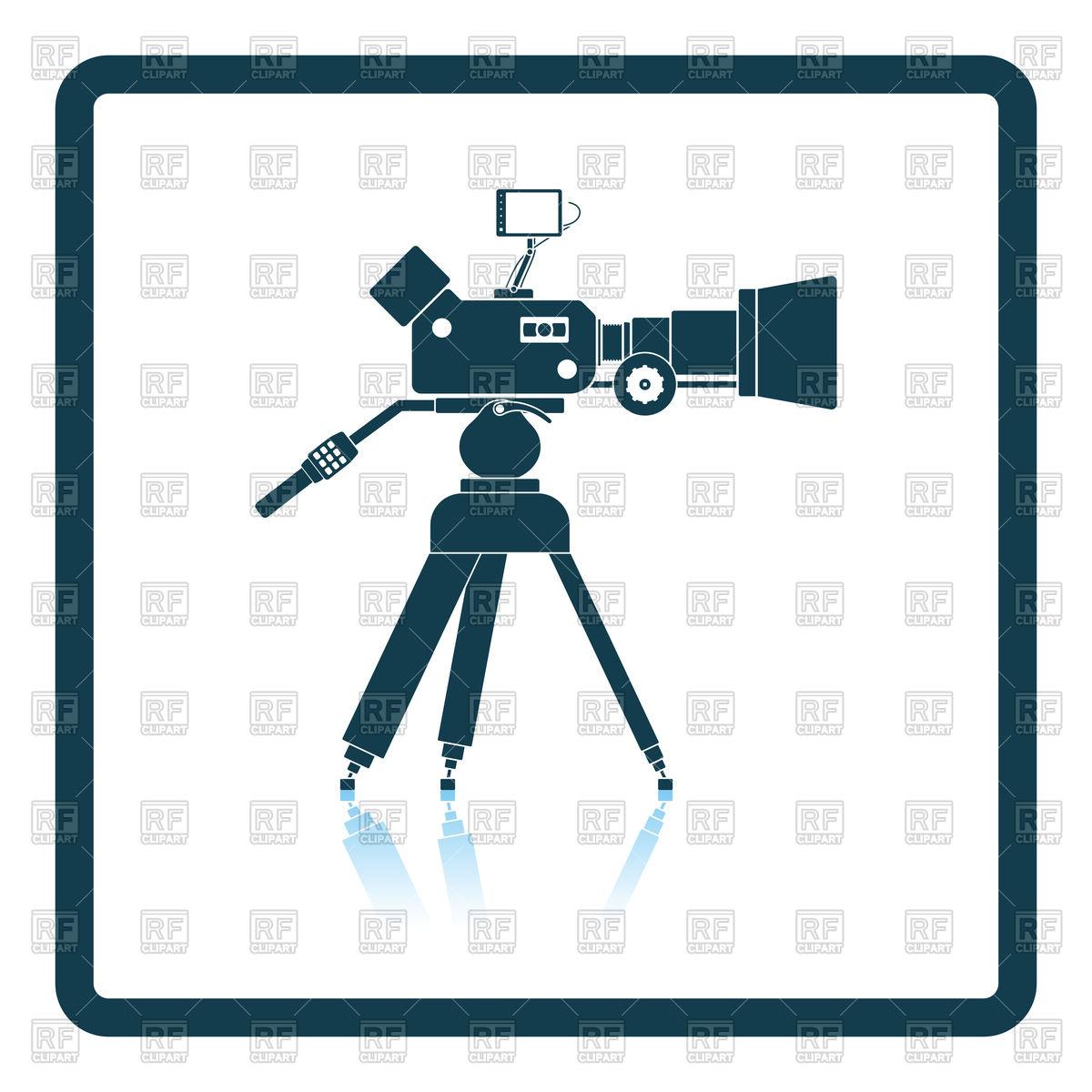 1200x1200 Retro Movie Marquee Royalty Free Vector Clip Art Image