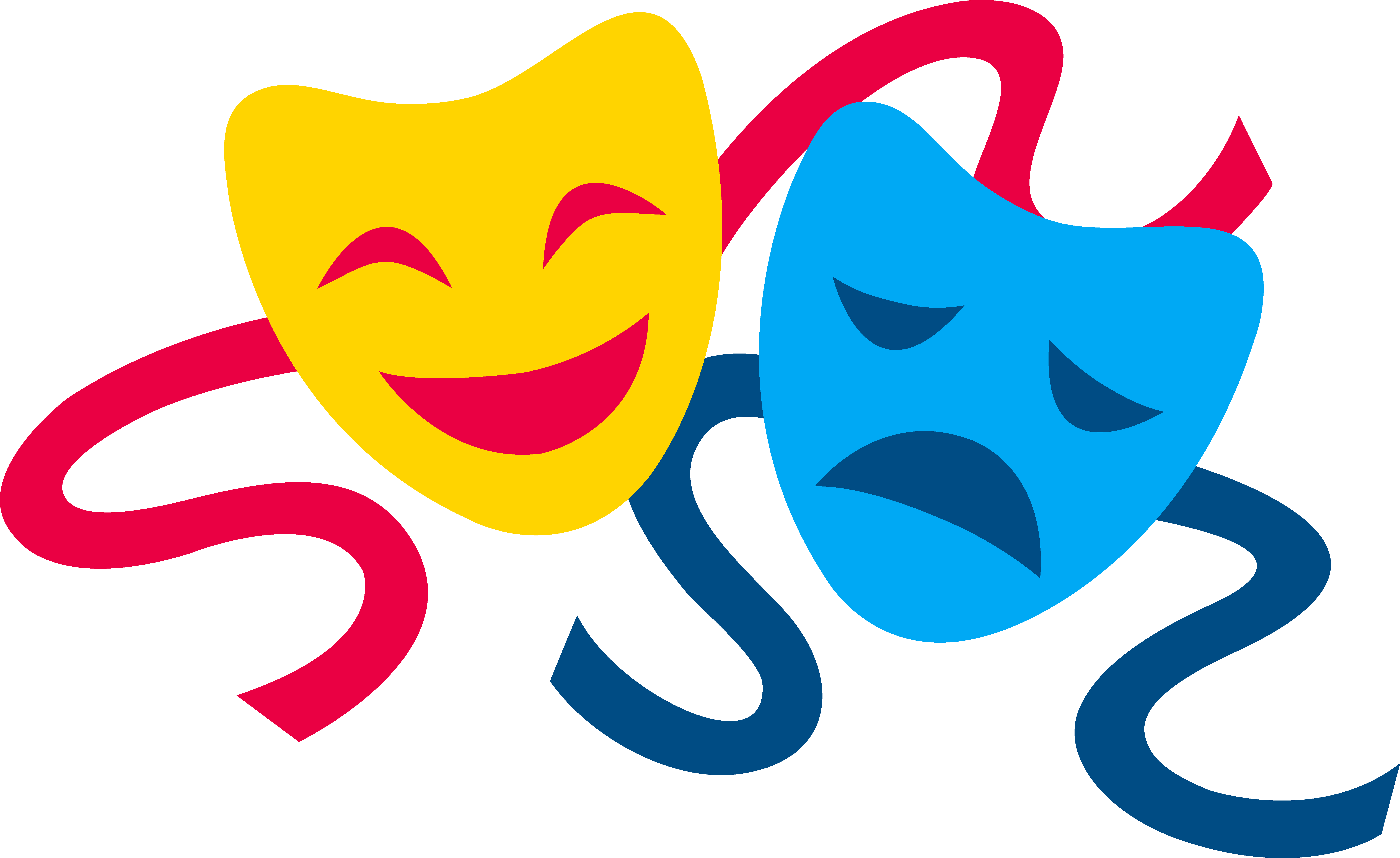 7859x4820 Comedy And Tragedy Masks
