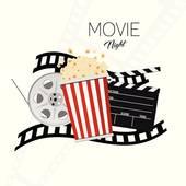 170x170 Movie Night Clip Art