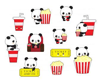 340x270 Movie Clipart Etsy