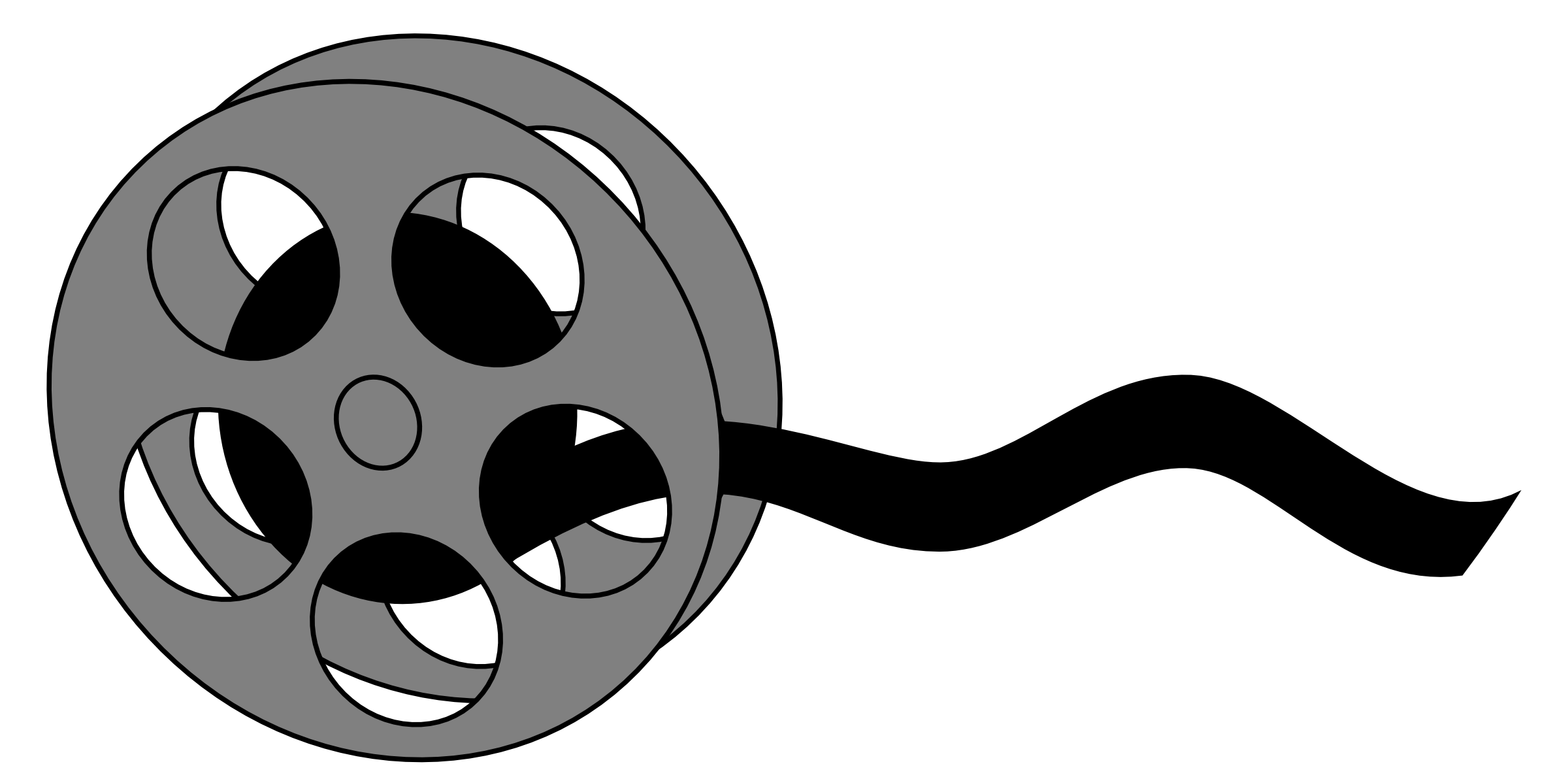 2400x1195 Movie Projector Clipart Free Clipart Images
