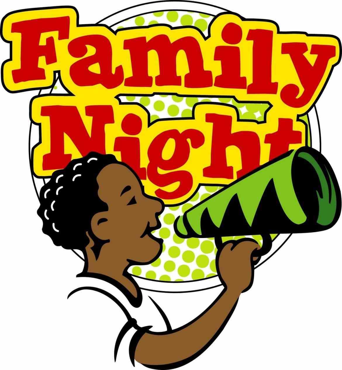 1170x1264 Family Night Clipart