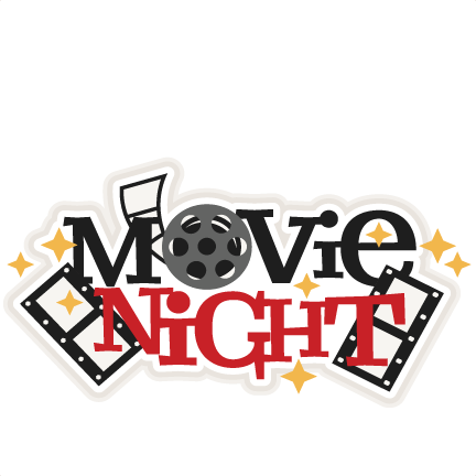 432x432 Movie Night Title Svg Scrapbook Cut File Cute Clipart Files