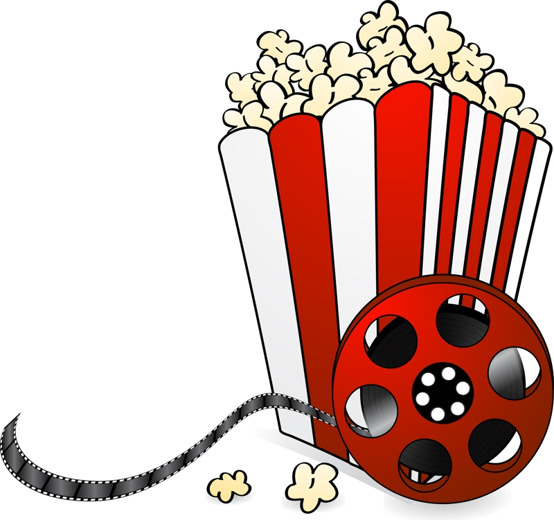 800x751 Movie Night Clipart 6