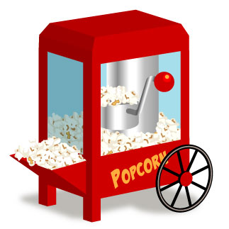 323x323 Popcorn Clip Art Black And White Outline Free