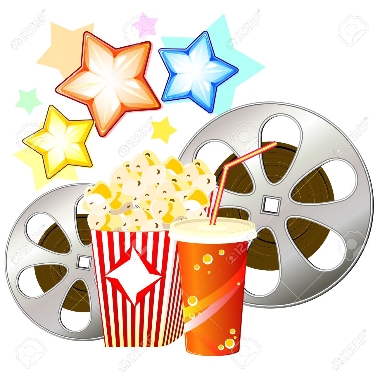 1300x1300 Popcorn Clipart Film Reel