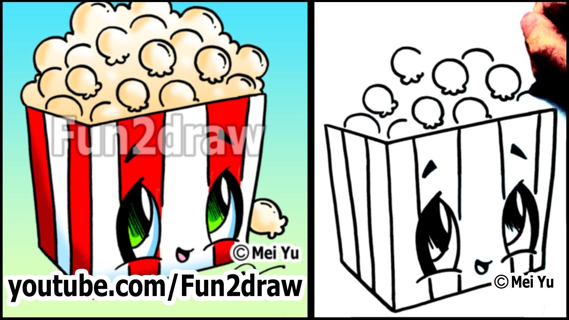 1920x1080 Popcorn Clipart Fun