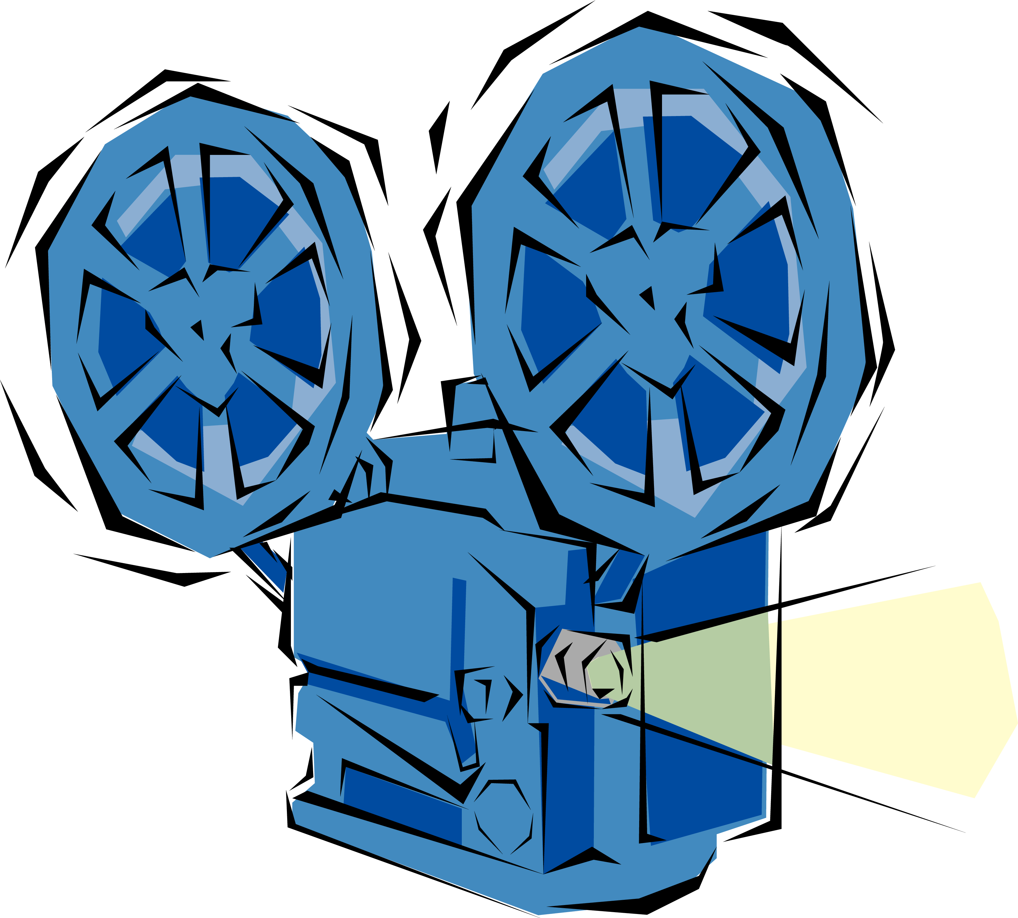 3300x2975 Movie Projector Clipart