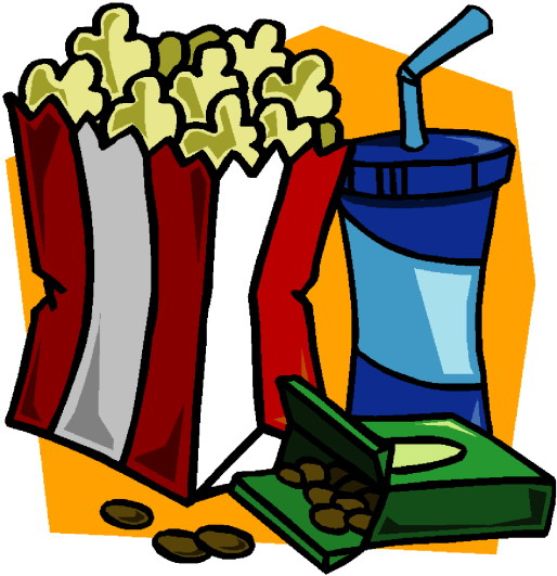 514x531 Movie Theater Clipart