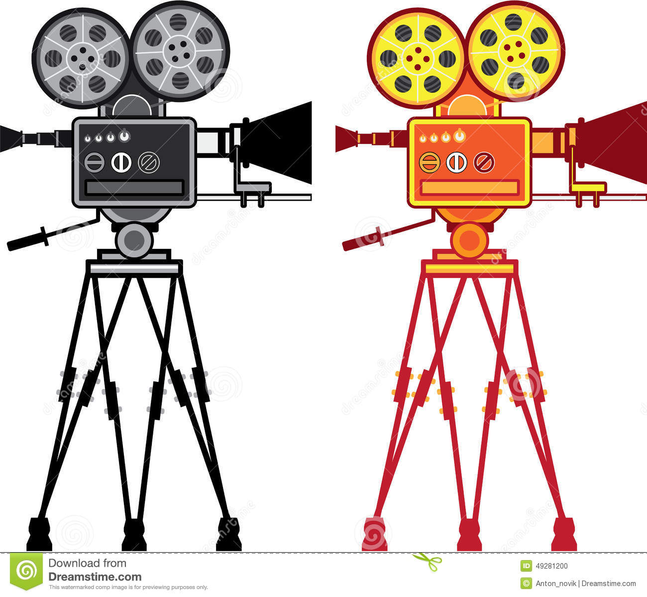 1300x1199 Old Movie Projector Clipart