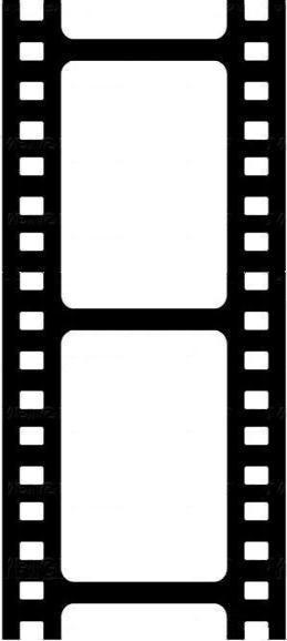 Movie Reel Border
