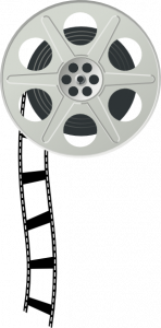 148x300 Impressive Design Movie Reel Clip Art Clipart Border Panda Free