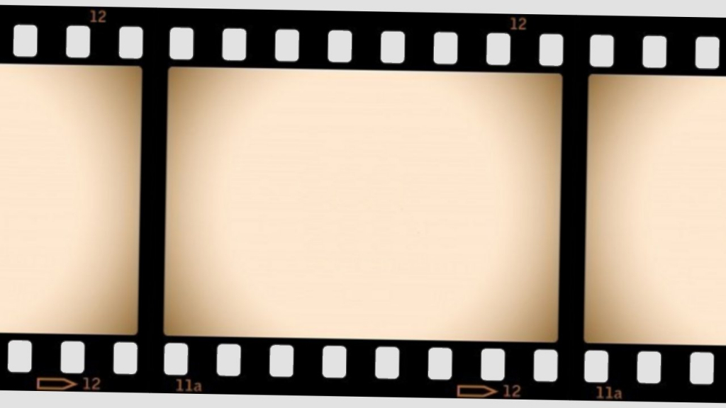 1024x576 Movie Reel Wallpaper Border