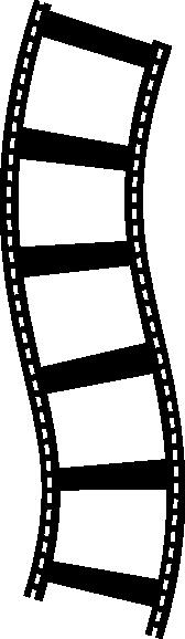168x578 Movie Clipart Border